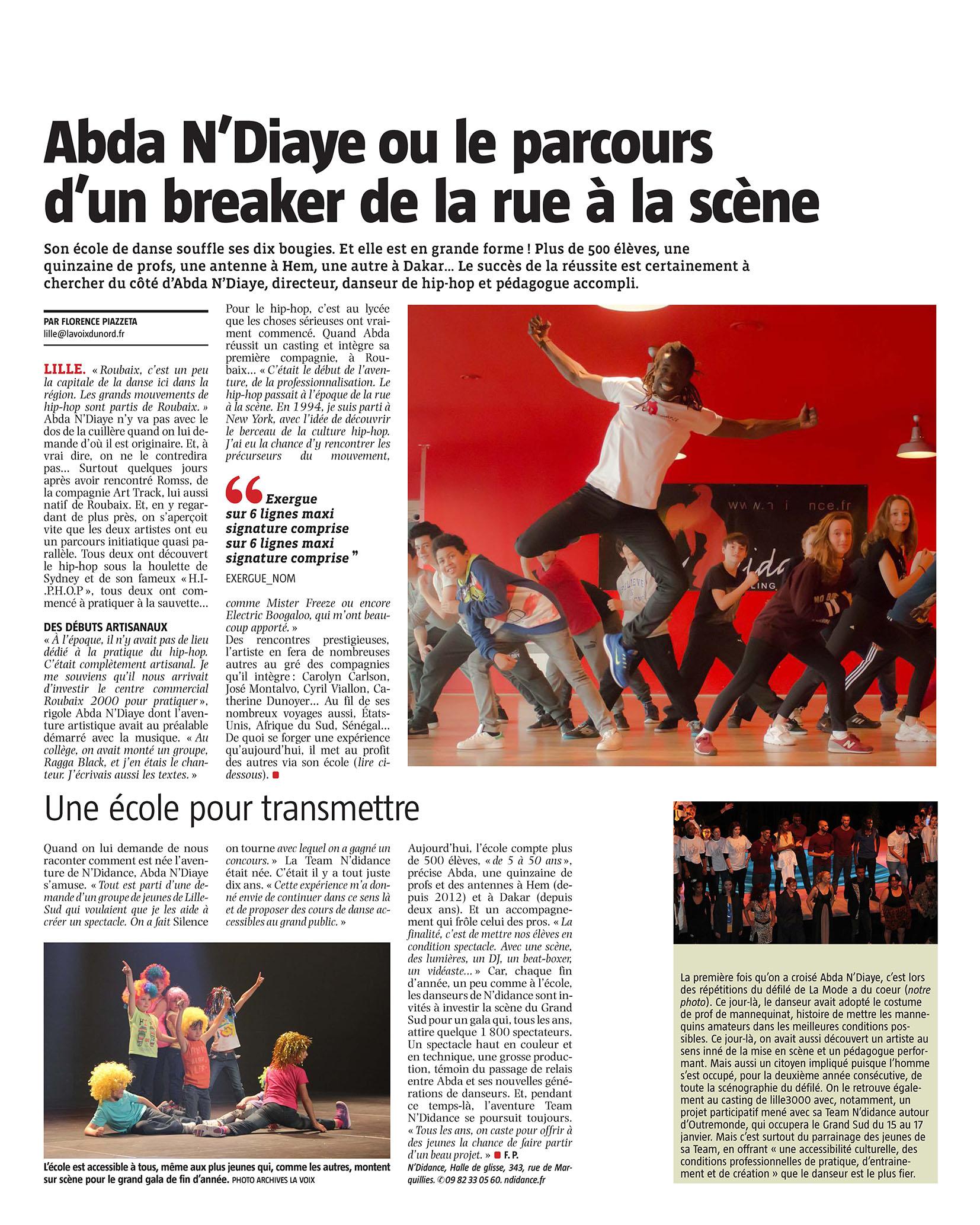 Presse - Abda N'Diaye