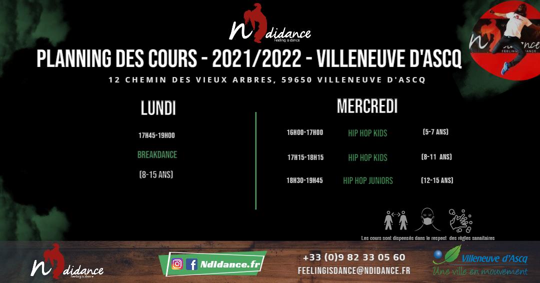 Programme ecolde de Villeneuve d'Ascq