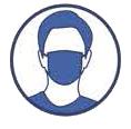 Rélges sanitaires port du masque obligatoire